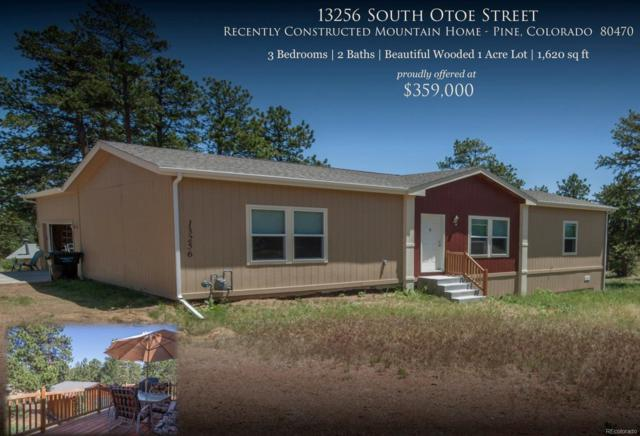 13256 S Otoe Street, Pine, CO 80470 (#4928363) :: Wisdom Real Estate