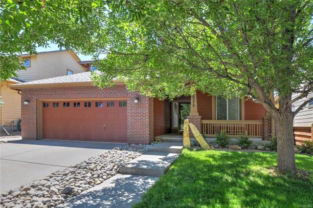16570 E 104th Place, Commerce City, CO 80022 (#4988778) :: The Peak Properties Group