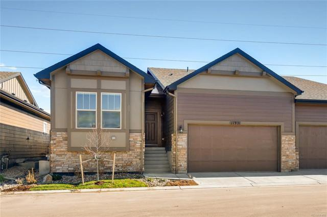 11921 Barrentine Loop, Parker, CO 80138 (#5028101) :: Wisdom Real Estate