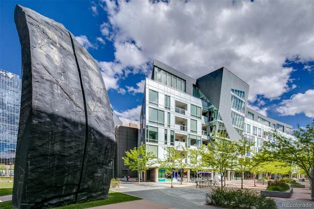55 W 12th Avenue #607, Denver, CO 80204 (#5056574) :: The DeGrood Team
