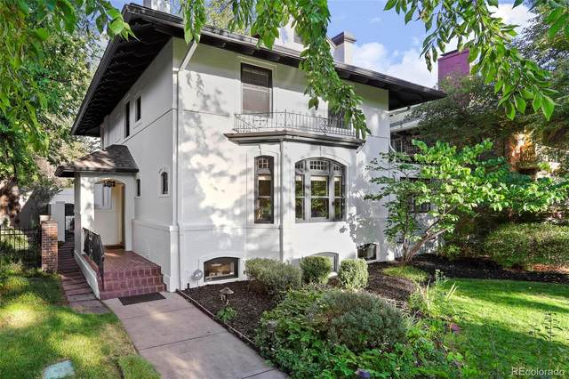 164 N Lafayette Street, Denver, CO 80218 (#5106140) :: The Scott Futa Home Team