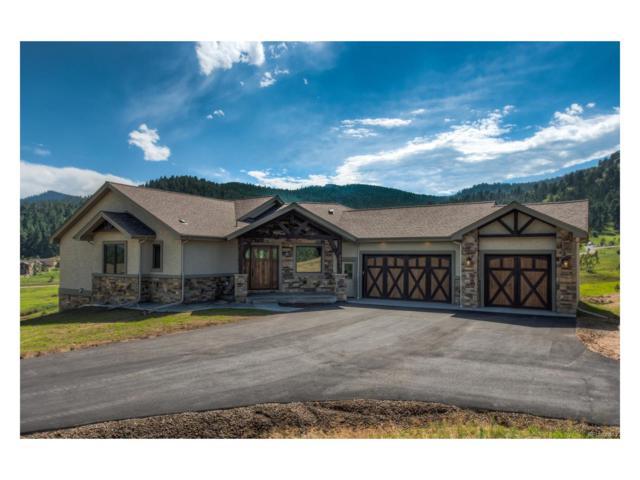 4953 Honeysuckle Lane, Indian Hills, CO 80454 (MLS #5206742) :: 8z Real Estate