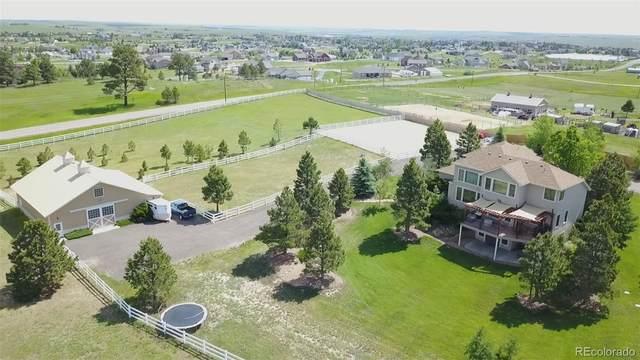 40950 S Thunder Hill Road, Elizabeth, CO 80107 (MLS #5218715) :: Neuhaus Real Estate, Inc.
