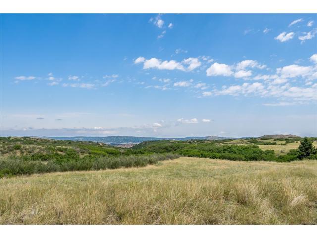 586 Tessa View Lane, Castle Rock, CO 80109 (MLS #5311166) :: 8z Real Estate