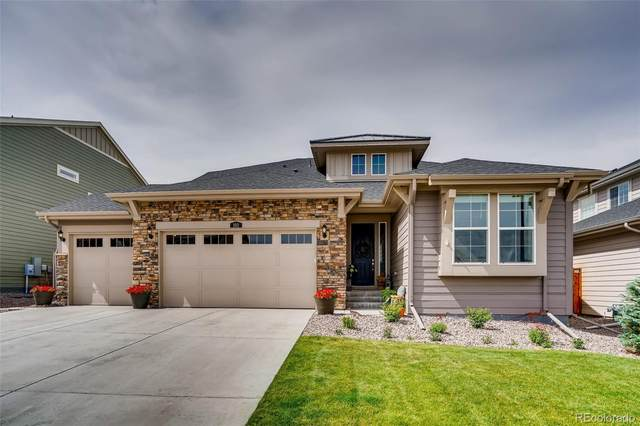 193 Green Valley Circle, Castle Pines, CO 80108 (#5649905) :: The HomeSmiths Team - Keller Williams