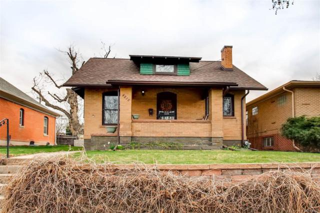 4816 W 34th Avenue, Denver, CO 80212 (#5828754) :: The Peak Properties Group