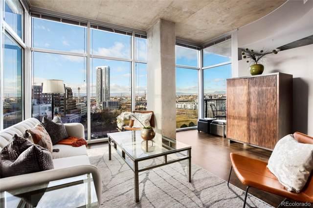 1700 Bassett Street #1009, Denver, CO 80202 (#5849257) :: Berkshire Hathaway Elevated Living Real Estate