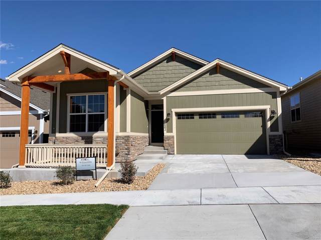 11602 Colony Loop, Parker, CO 80138 (MLS #5983601) :: 8z Real Estate
