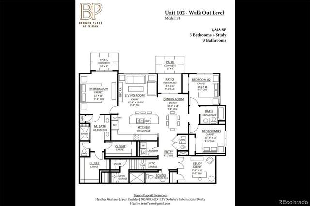 31191 Black Eagle Drive #102, Evergreen, CO 80439 (#6029031) :: The Heyl Group at Keller Williams