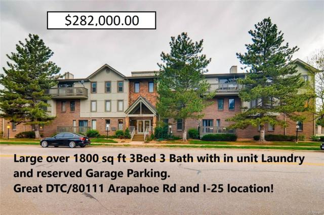 6425 S Dayton Street #106, Englewood, CO 80111 (#6309601) :: The Dixon Group