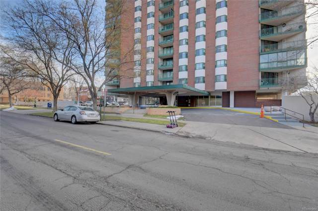 550 E 12th Avenue #1603, Denver, CO 80203 (#6474782) :: Berkshire Hathaway Elevated Living Real Estate