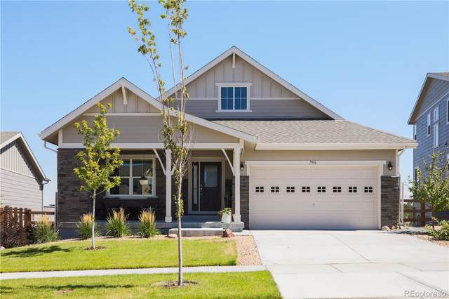 7996 S Grand Baker Way, Aurora, CO 80016 (#6495759) :: The HomeSmiths Team - Keller Williams