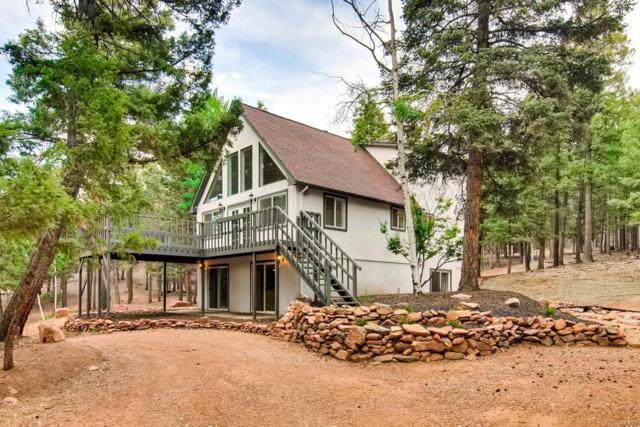 210 Spruce Lane, Woodland Park, CO 80863 (#6558680) :: The Peak Properties Group
