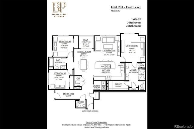 31191 Black Eagle Drive #201, Evergreen, CO 80439 (#6730419) :: The Heyl Group at Keller Williams