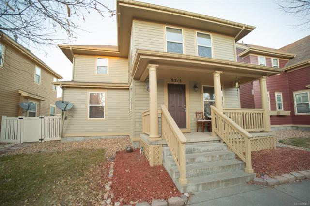 9315 E 108th Place, Commerce City, CO 80640 (#6808366) :: The Griffith Home Team