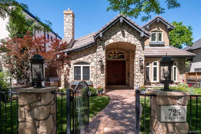 723 S Clayton Street, Denver, CO 80209 (#7009160) :: The Griffith Home Team