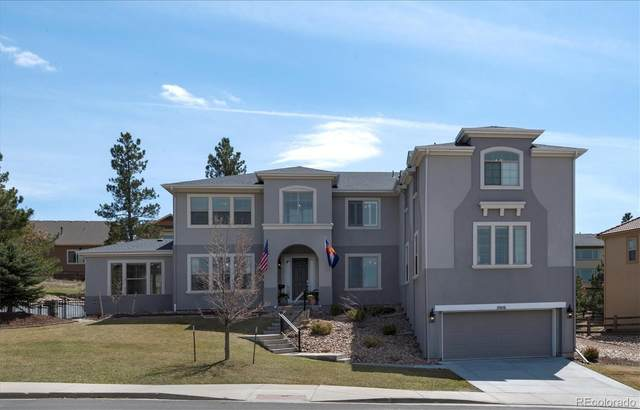 20116 E Shady Ridge Road, Parker, CO 80134 (MLS #7030149) :: Stephanie Kolesar