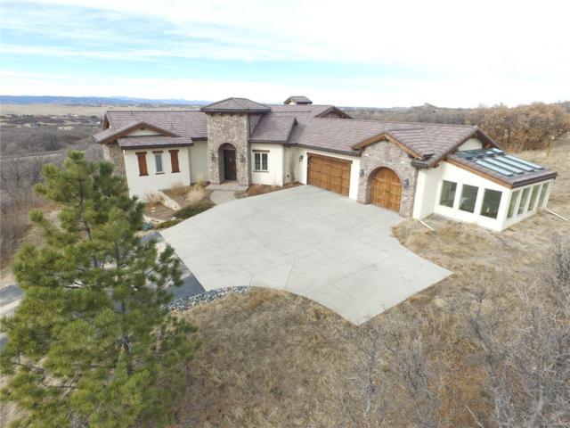 3946 Serenade Road, Castle Rock, CO 80104 (#7186204) :: The Peak Properties Group