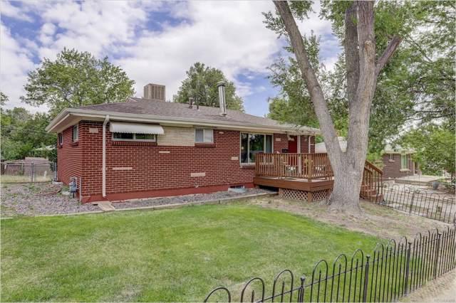6184 Otis Street, Arvada, CO 80003 (#7433289) :: The Peak Properties Group