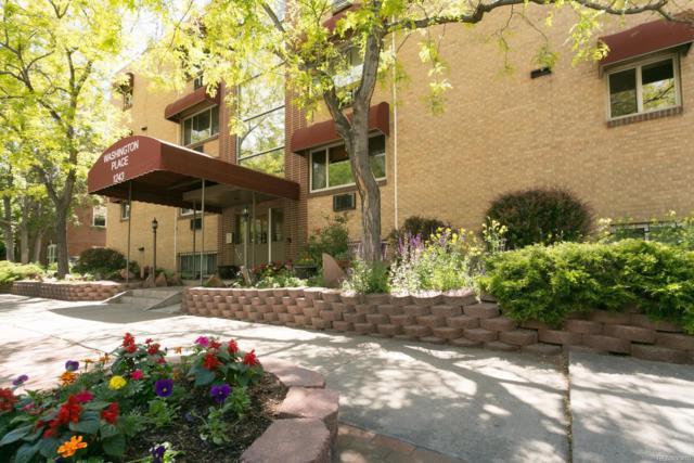 1243 N Washington Street #108, Denver, CO 80203 (#7451285) :: The Heyl Group at Keller Williams
