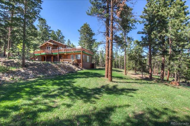 95 Ute Way, Nederland, CO 80466 (#7492560) :: Finch & Gable Real Estate Co.