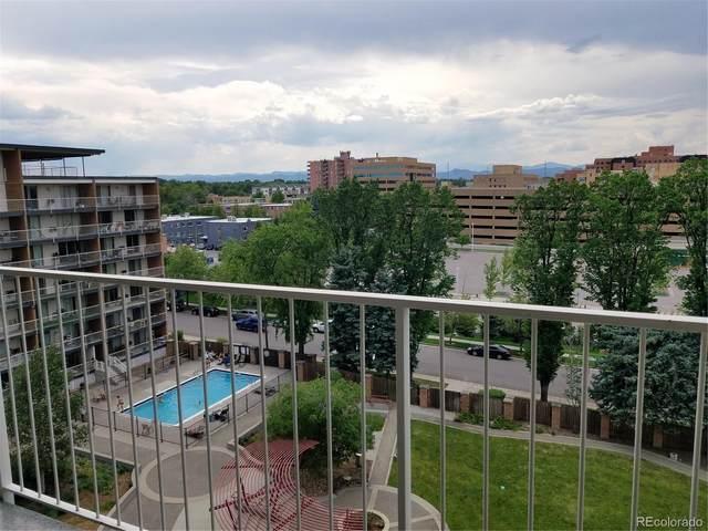 955 Eudora Street 707E, Denver, CO 80220 (#7572982) :: Kimberly Austin Properties