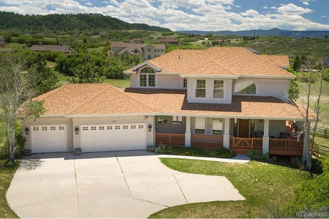 1430 Glade Gulch Road, Castle Rock, CO 80104 (#7580059) :: Mile High Luxury Real Estate