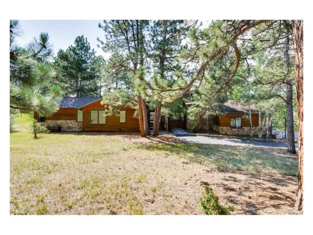2850 Interlocken Drive, Evergreen, CO 80439 (MLS #7619372) :: 8z Real Estate