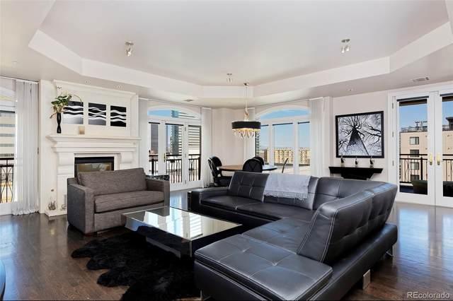 1827 Grant Street #1000, Denver, CO 80203 (MLS #7808667) :: 8z Real Estate