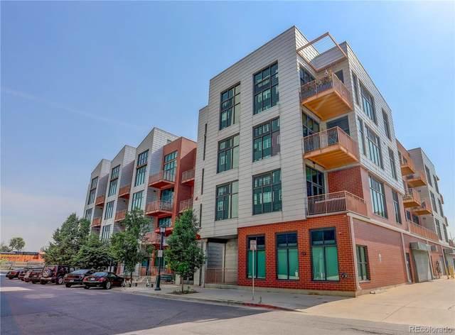 3100 N Huron Street 4P, Denver, CO 80202 (#7900364) :: Kimberly Austin Properties