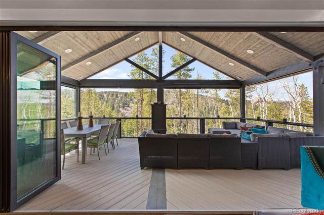 165 Mountain Estate Drive, Evergreen, CO 80439 (#8038351) :: The DeGrood Team