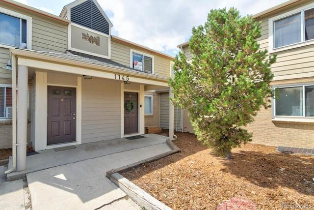 1145 Rosemary Street #102, Denver, CO 80220 (#8104004) :: Realty ONE Group Five Star