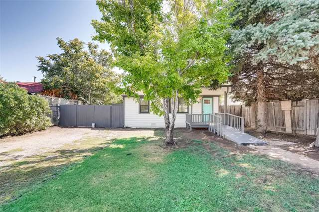 746 S Wolff Street, Denver, CO 80219 (MLS #8175414) :: 8z Real Estate