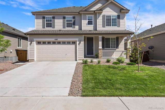 6387 Agave Avenue, Castle Rock, CO 80108 (MLS #8184099) :: 8z Real Estate