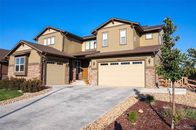 944 Rocky Ridge Circle, Erie, CO 80516 (MLS #8203162) :: The Sam Biller Home Team