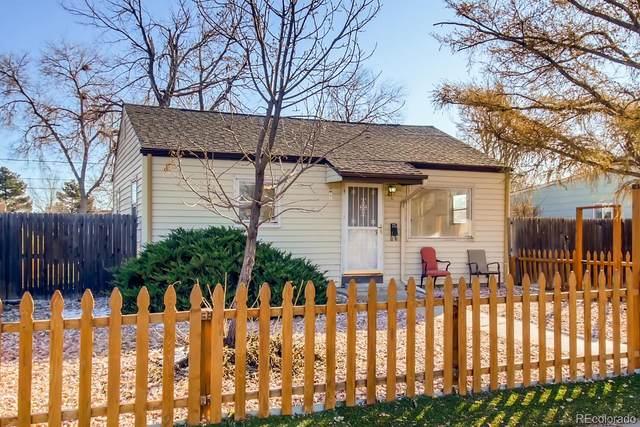 1272 S Osceola Street, Denver, CO 80219 (MLS #8217618) :: The Sam Biller Home Team