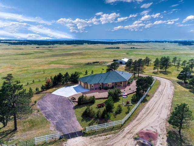 30905 Ridge Road, Ramah, CO 80832 (#8248096) :: The HomeSmiths Team - Keller Williams
