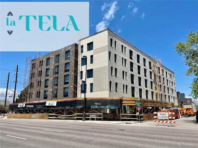 603 Inca Street #504, Denver, CO 80204 (MLS #8335230) :: Find Colorado