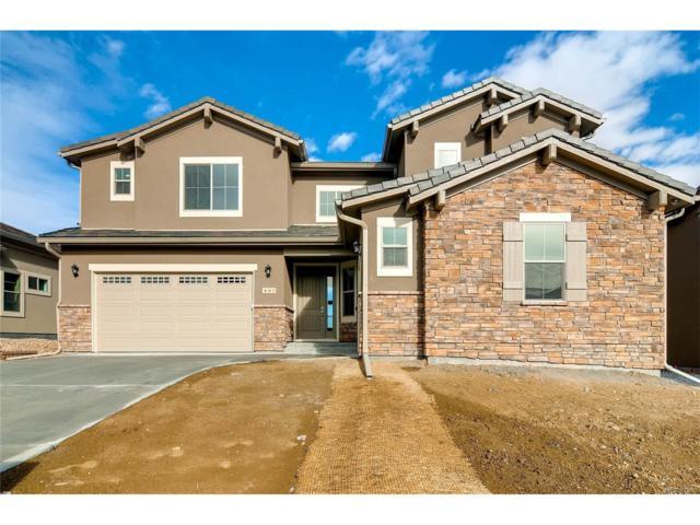 401 Andromeda Lane, Castle Rock, CO 80108 (MLS #8413087) :: 8z Real Estate