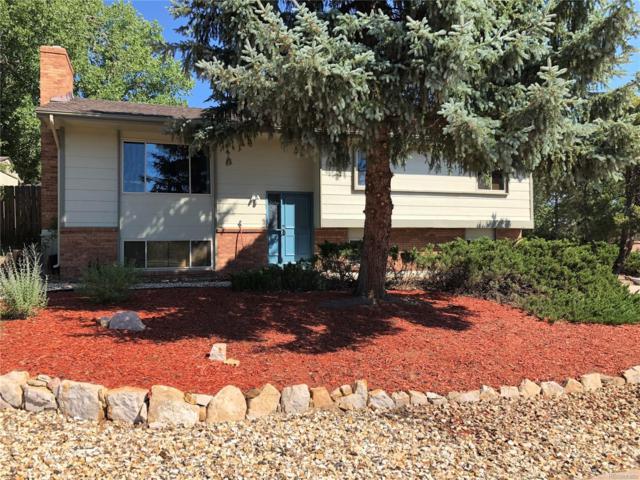 350 E Rockrimmon Boulevard, Colorado Springs, CO 80919 (#8555760) :: The DeGrood Team