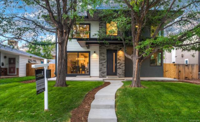 1618 S Madison Street, Denver, CO 80210 (#8565403) :: The Griffith Home Team
