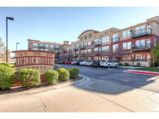 10184 Park Meadows Drive #1116, Lone Tree, CO 80124 (MLS #8656132) :: 8z Real Estate