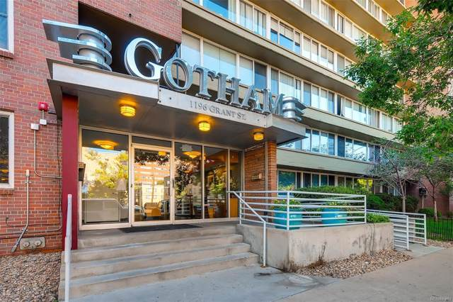 1196 N Grant Street #506, Denver, CO 80203 (MLS #8666837) :: Keller Williams Realty
