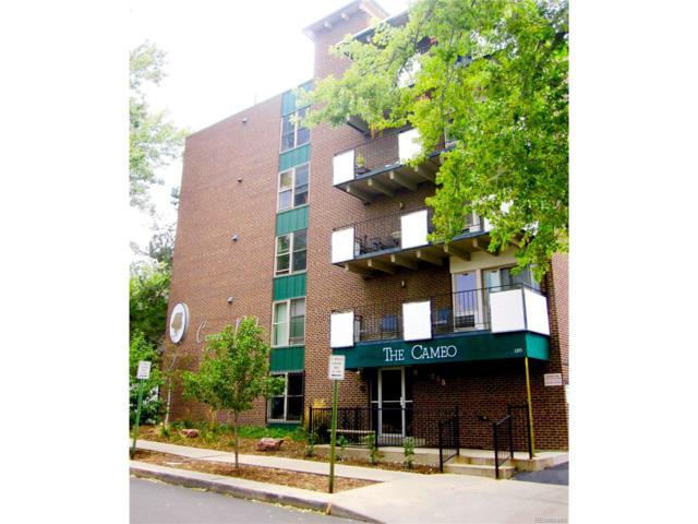 1265 Elizabeth Street #405, Denver, CO 80206 (#8844312) :: Thrive Real Estate Group