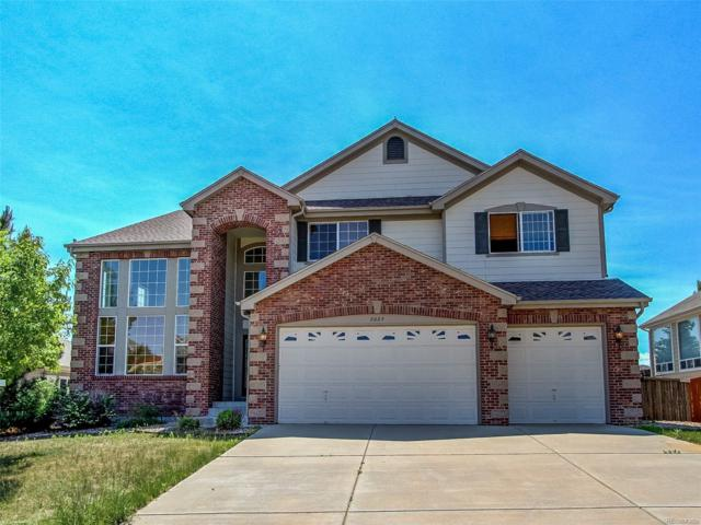 2025 Baguette Drive, Castle Rock, CO 80108 (#8883607) :: The Pete Cook Home Group