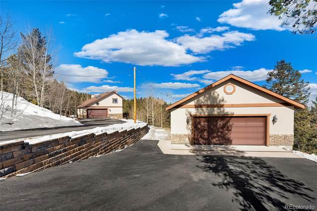 10438 Christopher Drive, Conifer, CO 80433 (#8956262) :: Finch & Gable Real Estate Co.