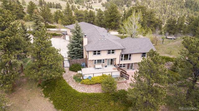 5033 Crawford Gulch Road, Golden, CO 80403 (#9029157) :: Compass Colorado Realty