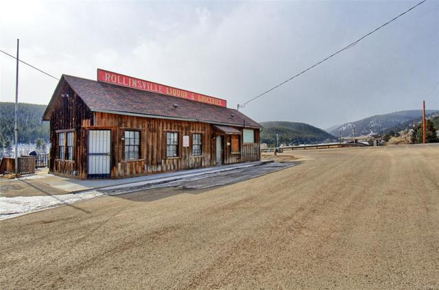 12 Main Street, Rollinsville, CO 80474 (#9066084) :: The Peak Properties Group