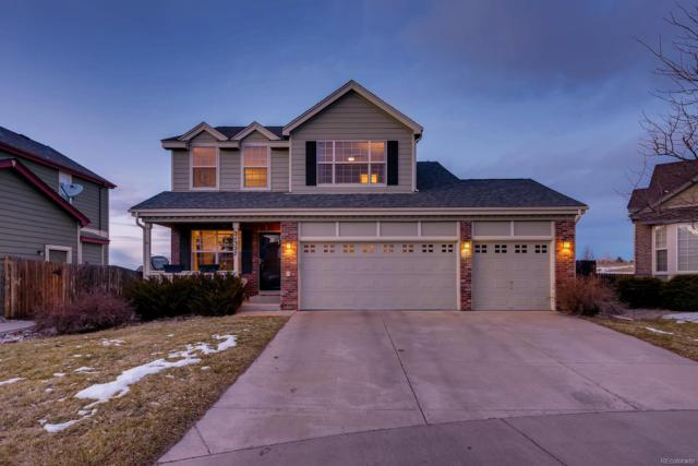 21327 Snowcreek Court, Parker, CO 80138 (#9130193) :: House Hunters Colorado