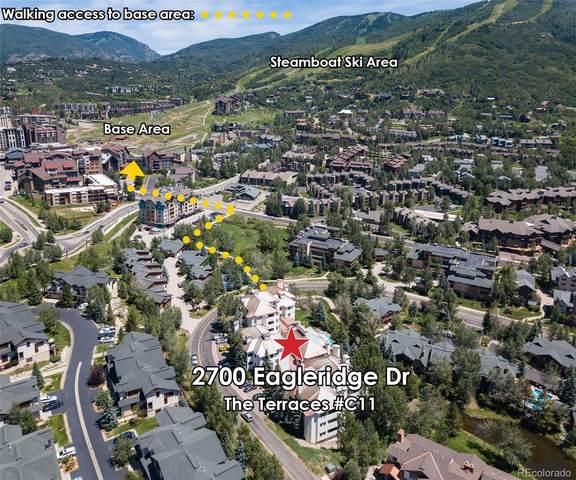 2700 Eagleridge Drive C11, Steamboat Springs, CO 80487 (#9144762) :: Briggs American Properties